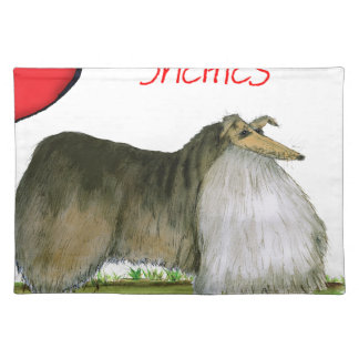 we luv shetland sheepdogs from Tony Fernandes Placemat