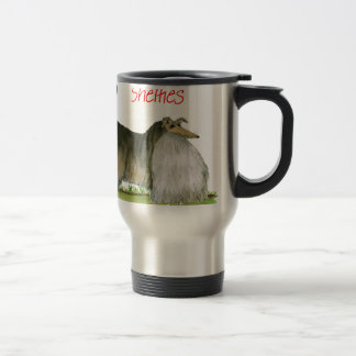we luv shetland sheepdogs from Tony Fernandes Travel Mug