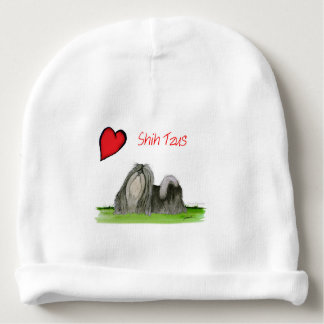 we luv shih tzus from Tony Fernandes Baby Beanie