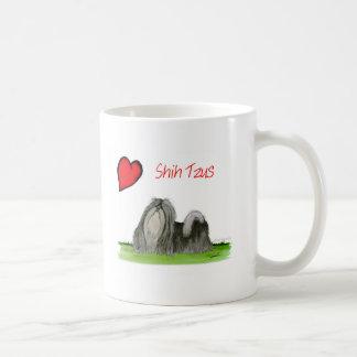 we luv shih tzus from Tony Fernandes Coffee Mug