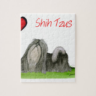 we luv shih tzus from Tony Fernandes Jigsaw Puzzle