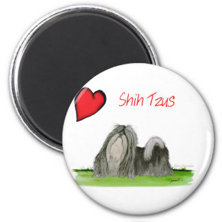 we luv shih tzus from Tony Fernandes Magnet