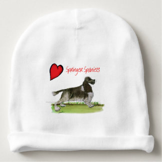 we luv springer spaniels from Tony Fernandes Baby Beanie