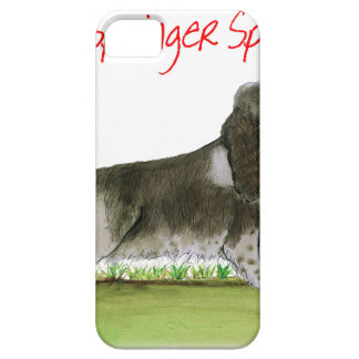 we luv springer spaniels from Tony Fernandes Barely There iPhone 5 Case