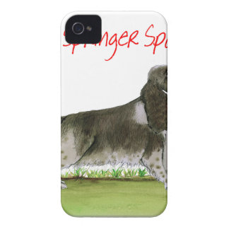 we luv springer spaniels from Tony Fernandes iPhone 4 Case-Mate Cases