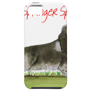 we luv springer spaniels from Tony Fernandes iPhone 5 Case