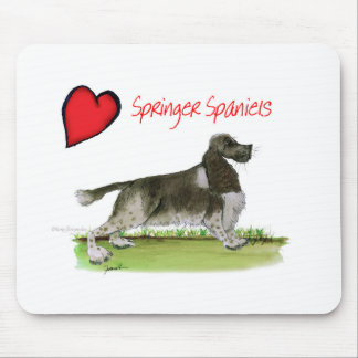 we luv springer spaniels from Tony Fernandes Mouse Pad
