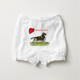 we luv springer spaniels from Tony Fernandes Nappy Cover