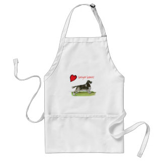 we luv springer spaniels from Tony Fernandes Standard Apron