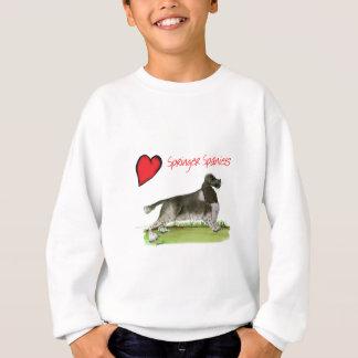 we luv springer spaniels from Tony Fernandes Sweatshirt