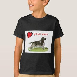 we luv springer spaniels from Tony Fernandes T-Shirt