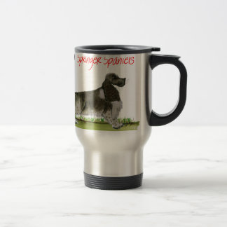 we luv springer spaniels from Tony Fernandes Travel Mug