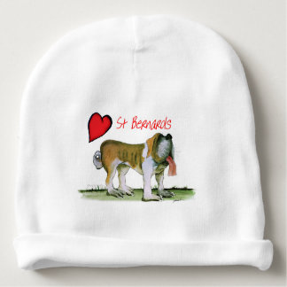 we luv st bernards from Tony Fernandes Baby Beanie