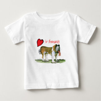 we luv st bernards from Tony Fernandes Baby T-Shirt