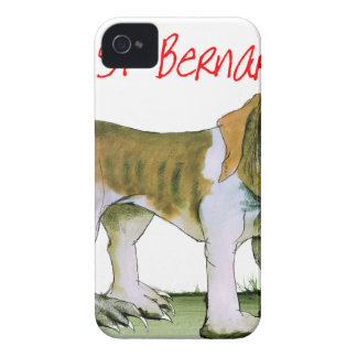 we luv st bernards from Tony Fernandes Case-Mate iPhone 4 Cases