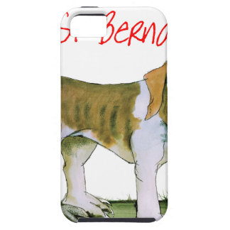 we luv st bernards from Tony Fernandes iPhone 5 Covers