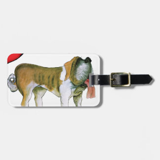 we luv st bernards from Tony Fernandes Luggage Tag