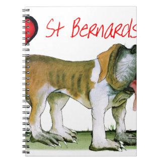 we luv st bernards from Tony Fernandes Notebook