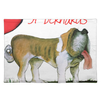 we luv st bernards from Tony Fernandes Placemat