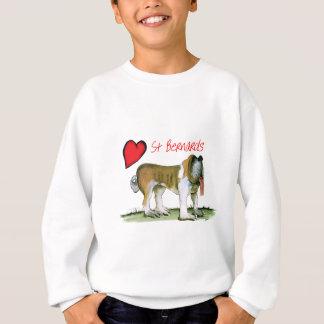 we luv st bernards from Tony Fernandes Sweatshirt