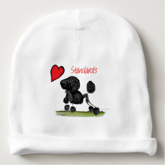 we luv standard poodles from Tony Fernandes Baby Beanie