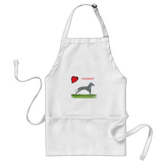 we luv weimaraners from Tony Fernandes Standard Apron