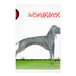 we luv weimaraners from Tony Fernandes Stationery