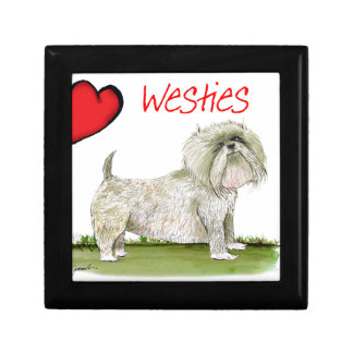 we luv westies from Tony Fernandes Gift Box
