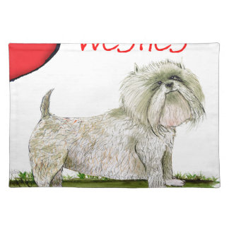 we luv westies from Tony Fernandes Placemat