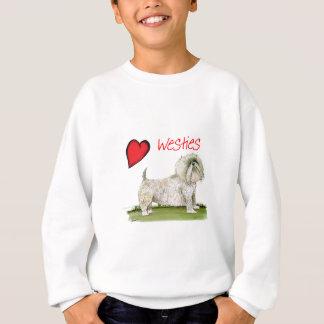 we luv westies from Tony Fernandes Sweatshirt