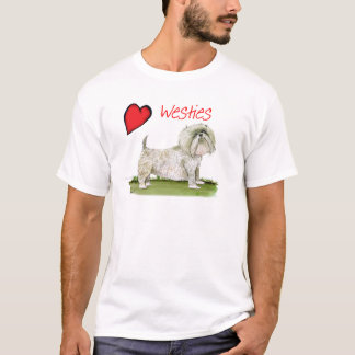 we luv westies from Tony Fernandes T-Shirt