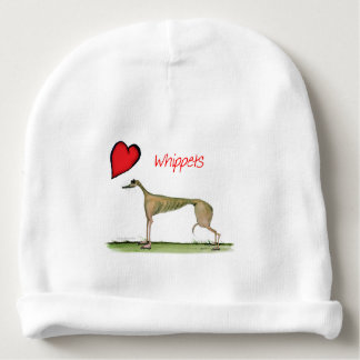 we luv whippets from Tony Fernandes Baby Beanie