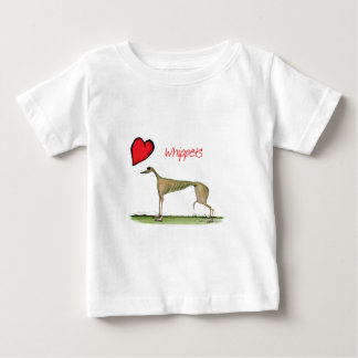 we luv whippets from Tony Fernandes Baby T-Shirt
