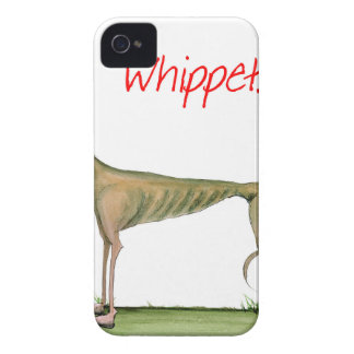 we luv whippets from Tony Fernandes iPhone 4 Case-Mate Cases