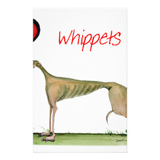 we luv whippets from Tony Fernandes Stationery