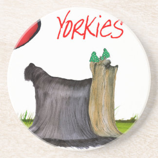 we luv yorkies from Tony Fernandes Coaster