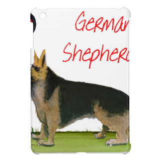 we luve german shepherds from Tony Fernandes Cover For The iPad Mini