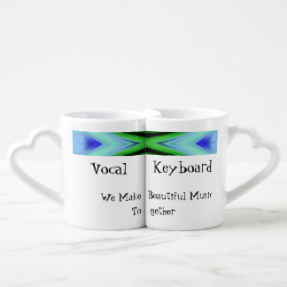 We Make Beautiful Music Together Lover's Cups