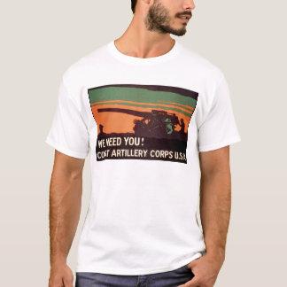 We Need You! Coast Artillery Corps T-Shirt