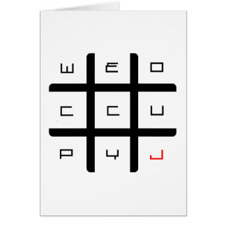We Occupy Jesus Swag Card