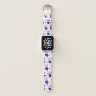 We R1 (Bisexual Hand) Apple Watch Band