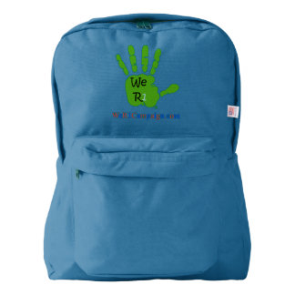 We R1 Green Hand Backpack