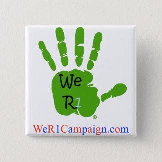 We R1 Green Hand Button