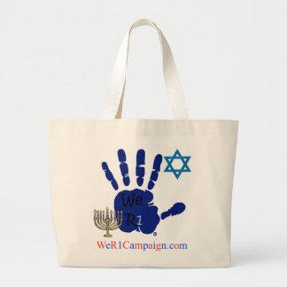 We R1 Jewish Tote Bag