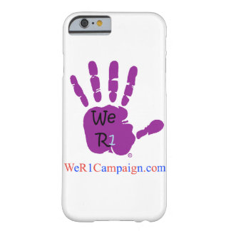 We R1 Purple Hand Phone Case
