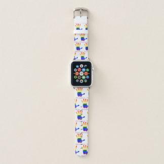 We R1 (Rainbow Hand) Apple Watch Band