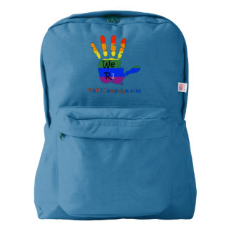 We R1 Rainbow Hand Backpack