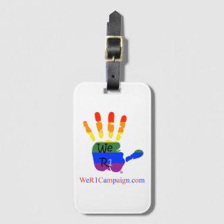 We R1 Rainbow Hand Luggage Tag