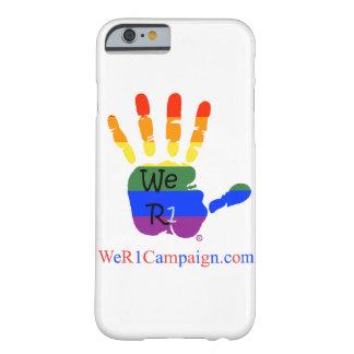 We R1 Rainbow Hand Phone Case