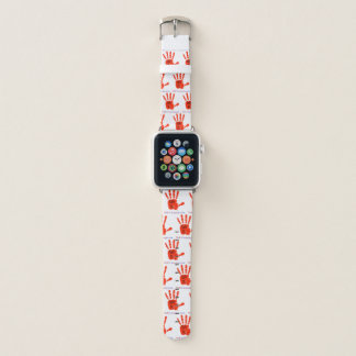 We R1 (Red Hand) Apple Watch Band